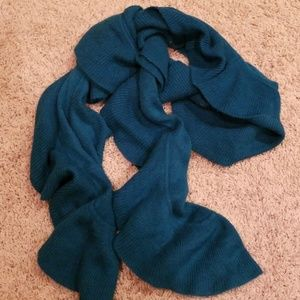 Accessories - Dark Teal Ruffle Scarf 🌟 FINAL PRICE 🌟